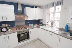 Kitchen @ Lyttleton Grange, Stourbridge, Worcestershire by David Wilson Homes