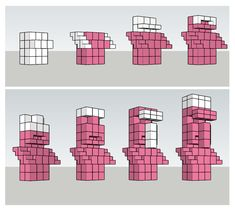 Blueprint (pink) for that statue everyone likes. – Minecraft - Blueprint (pink) for that statue everyone likes. Minecraft Interior Design, Minecraft Banner Designs, Minecraft Decorations, Minecraft House Designs, Minecraft Architecture, Minecraft Crafts, Minecraft Building Guide, Minecraft Plans, Minecraft Houses Blueprints