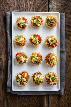 Slow-cook these adorable chicken taco bites