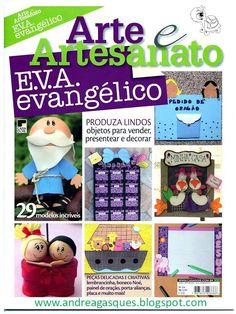 Revista de manualidades Arte e artesanato gratis http://tuimaginaycrea.blogspot.mx/p/revistas-gratis.html