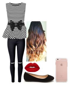 """""""Untitled #5"""" by sydneykimora on Polyvore featuring WithChic, WearAll and Lime Crime"""