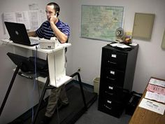 Treadmill Desk ... for Low Back Pain?