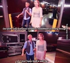 Oh Ellen! She's the sweetest. Taylor Swift.. you're another story. Let's try to stick with one guy at a time sweetheart