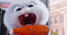 The perfect Snowball Pets Bunny Animated GIF for your conversation. Cute Bunny Cartoon, Cute Cartoon Pictures, Cute Pictures, Snowball Rabbit, Gif Lindos, Rabbit Wallpaper, Rabbit Gif, Cute Love Gif, Secret Life Of Pets