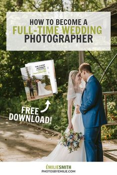 How to become a full-time wedding photographer. Running a wedding photography business. Become a wedding photographer. Hobby Photography, Photography Photos, Amazing Photography, Wedding Photography Marketing, Photography Business, Become A Photographer, Photographer Wedding, Photography Challenge, Park Weddings