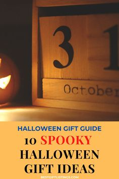 Everyone's favorite spooky tricks season is here & we wanna offer you a treat: A Halloween Gifts Guide featuring 10 Awesome Halloween Gifts! #bestgiftlistings #bgl #giftguides #giftideas #halloweengiftideas #gifts Halloween Gift Baskets, Halloween Gifts, Spirit Halloween, Baby Halloween, Spooky Halloween, Halloween Themes, Wholesale Halloween Costumes, Halloween Celebration, Simple Gifts
