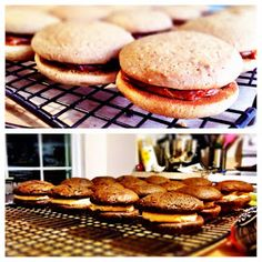 iced everything.: Coffee lovers only - Mocha and Caramel Macchiato Whoopie Pies!