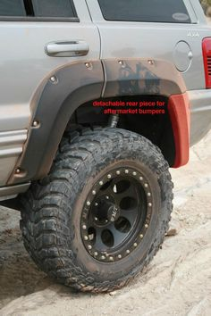 #Jeep Grand Cherokee WJ Cut-Out #FenderFlares