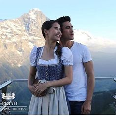 Sweet Couple, Drama Movies, The Crown, Celebrity Couples, Traditional Dresses, Thailand, Idol, It Cast, Handsome