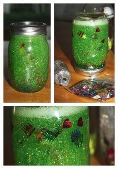science discovery bottles calming glitter jar inexpensive way