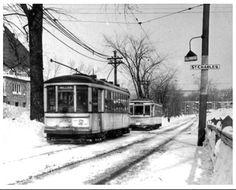 Tramway Millen sur la rue Kelly (Henri-Bourassa) et St-Charles