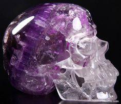 Amethyst Skull from Skullis.com