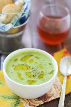 Kale & Artichoke Soup | www.theroastedroot.net