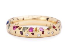 An amazing rainbow ring.                                                                                                                                                                                 More