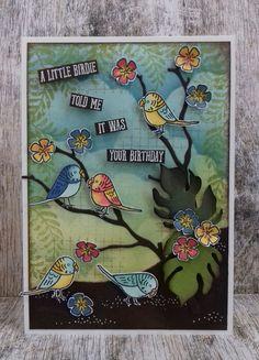 Bird Banter,Seasonal Layers Thinlits dies, Botanical Builder Framelits, Awesomely Artistic, Timeless Textures, Stampin'Up! , www.stamp-ing.blogspot.nl