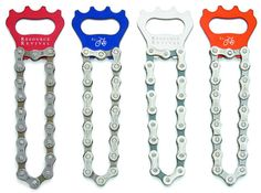Bike Chain Bottle Opener by Resource Revival