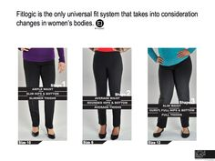 The Fit Shape Finder survey. Your answer to those pesky dressing room struggles: https://www.littleblackpant.com/style.html
