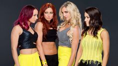 "The ""Four Horsewomen"" of NXT  (Sasha Banks, Becky Lynch, Charlotte, Bayley )"