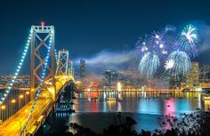 San Francisco New Years Eve Fireworks Show | 2014 Yerba Buena Island / Treasure Island As long as you can arrive early, you might squeeze in ...