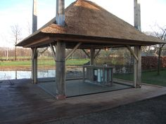 Specialist in verandabeglazing Gazebo, Outdoor Structures, Kiosk, Deck Gazebo