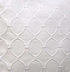 White Pillow Geometric textured  18x18 Contemporary Design. $19.00, via Etsy.