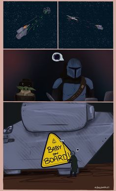 Papa Mando is Done ™ Star Wars Fan Art, Star Wars Witze, Star Wars Jokes, Disney Pixar, Disney Memes, Yoda Meme, Dreamworks, A Silent Voice, Film Serie