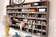 I really need something like this for my craft room!