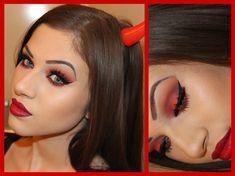 Seductive Devil Makeup Tutorial | Collab with Jess Chax