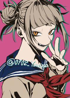 Anime Kiss, Anime Art, Himiko Toga, Fanart, Yandere, Manga, Boku No Hero Academia, Cool Girl, Legos