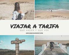 Mi viaje y consejos para viajar a Tarifa, qué ver y qué playas visitar, además de mi experiencia viajando en una furgo camper con mi perro.
