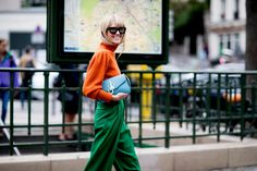 Paris Fashion Week Street Style Spring 2018 Day 3, Runway, Womenswear Collections at TheImpression.com - Fashion news, street style, models, accessories