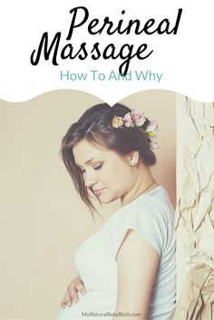 I always thought perineal massage was sorta weird in getting ready for childbirth during pregnancy. But now I'm going to do this everyday. So glad I learned how! mynaturalbabybirt...
