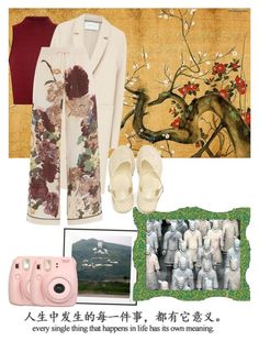 """""""China! Only a Dream..."""" by rjizzle ❤ liked on Polyvore featuring Glamorous, Harris Wharf London, Valentino, By Lassen and Fujifilm"""