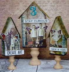 Shabby Chic Home Decor Shabby Chic Bedrooms, Shabby Chic Homes, Small Bedrooms, Guest Bedrooms, Vintage Shabby Chic, Shabby Chic Decor, Timmy Time, Assemblage Art, Tim Holtz