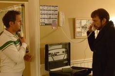 Still of Billy Bob Thornton and Glenn Howerton in Fargo (2014)