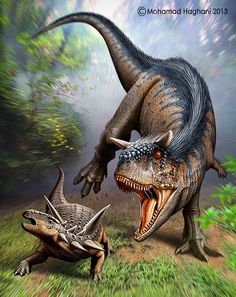 Carnator vs Ankyosaur Inspired by Papo