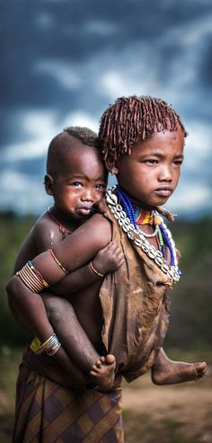 Children Hamer, Ethiopia