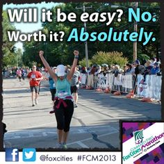 It's worth it! #FCM2013 #running #marathon #halfmarathon #fitspo #fitness #inspiration #5k #training