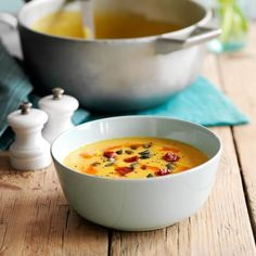 Golden Lentil and Chorizo Soup. Search triple tested recipes from the Good Housekeeping Cookery Team. Kitchen Recipes, New Recipes, Cooking Recipes, Favorite Recipes, Recipies, Chorizo Soup Recipes, Chowder Recipes, Soup Starter, Pumpkin Soup