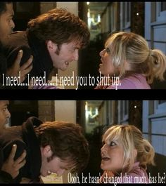 Day 6: Favorite Special Episode: The Christmas Invasion. I love it because we really get to see how rude this Doctor is. :)