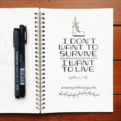disney quotes Wall-E hand lettered type Hand Lettering Quotes, Doodle Lettering, Types Of Lettering, Calligraphy Quotes Disney, Calligraphy Doodles, Typography, Lettering Design, Bullet Journal Quotes, Bullet Journal Ideas Pages