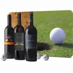 Golf & Wine Legends Wine Gift Trio