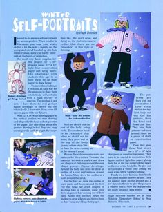 Look what we found in our Archives — from Dec 1997!*  Perfect project what with all this winter weather, don't you think? Enjoy!  * Sorry, there is no link to this article.