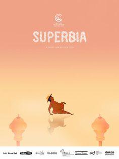 Superbia by Luca Tóth. #Cannes2016 #SDLC2016 Semaine de la Critique Short Film Competition. Poster.
