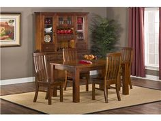 Shop for Jeffers Hill Outback 5pc Dining Set - Table With Leaf, 4321DTBEC, and other Dining Room Sets at Oskar Huber Furniture in Southampton, PA and Ship Bottom, NJ. Crafted from high mountain solid Ash and some select plywood, the Outback collection is sturdy and stylish. The timbers are mill cut to give each piece an aged and distressed appearance.