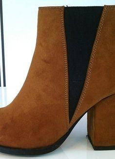 Kaufe meinen Artikel bei #Kleiderkreisel http://www.kleiderkreisel.de/damenschuhe/stiefeletten/125922312-it-stifeletten-in-toller-cognac-farbe
