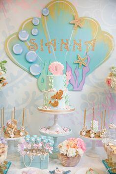 Magical Mermaid Sweets Table | Mermaid Party Ideas