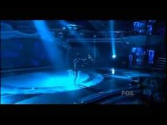 Adam Lambert during American Idol's Top 8 Song From The Year They Were Born Week performing Tears For Fears' 'Mad World'