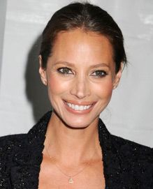 Christy Turlington.  beautiful, intelligent, and and activist.  She would rather give money and time to help people than have a closet full of designer clothes.