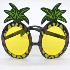6767e9a086c Funny Decorative Pineapple Beach Party Tropical Costumes Sunglasses Glitter  Beach Glasses Gift Event Party Supplies Decoration